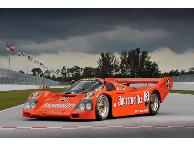 Ex-Tim Lee-Davey/Vern Schuppan/Amalfitano Collection,1988-89 Porsche Typ 962 Group C Racing Coupe  Chassis no. 962-138 Engine no. FR 001