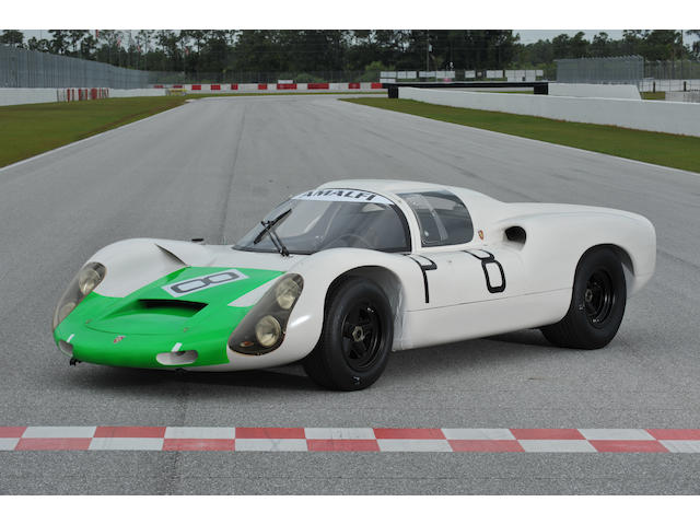 Ex-Works, Mitter/Bianchi, Nurburgring 1000km,1967 Porsche 910/6 Prototype Coupe  Chassis no. 910-026