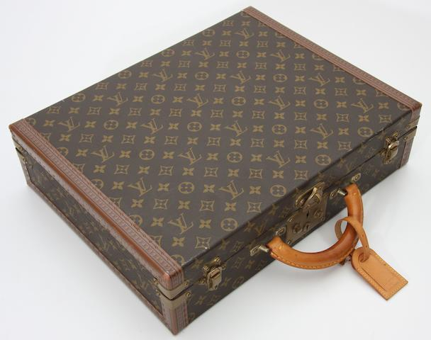 A good original Louis Vuitton briefcase,
