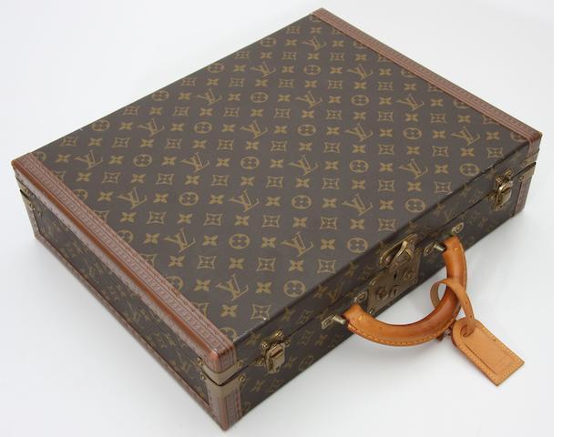 A good original Louis Vuitton briefcase,