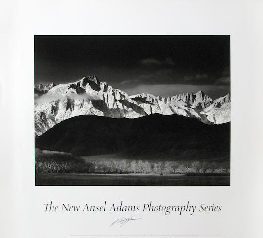 Ansel Adams (American, 1902-1984); A Group of Ansel Adams Posters; (26)