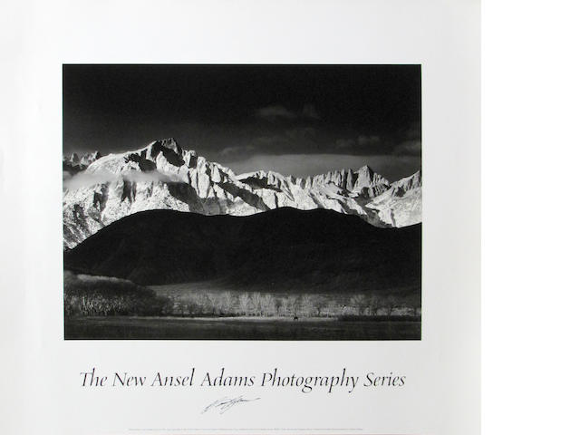 Ansel Adams posters, Winter Sunrise (26)