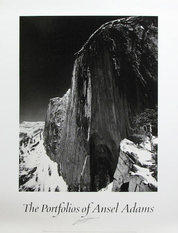 Ansel Adams (American, 1902-1984); A Group of Ansel Adams Posters; (9)