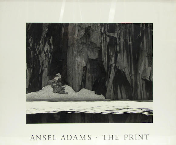 Framed Ansel Adams poster (6)