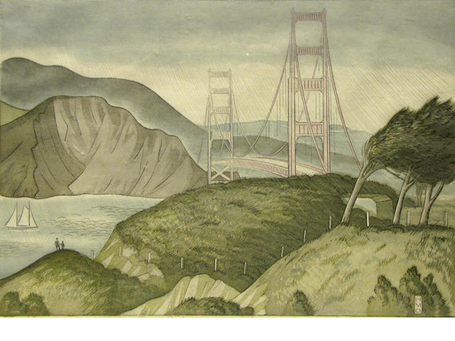 Harold Malette, Dean, Golden Gate Bridge