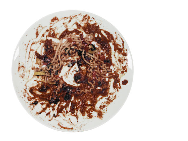 Vik Muniz (Brazilian, born 1961) Peter Norton Family Christmas Project, 1999 diameter 12 1/2in