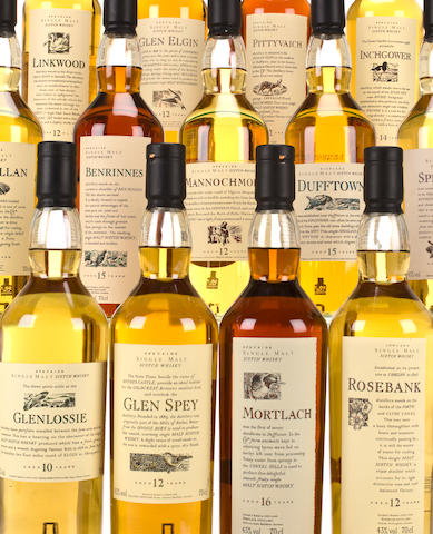 Royal Brackla-10 year oldGlen Spey-12 year oldSpeyburn-12 year oldStrathmill-12 year old (2)Benrinnes-15 year oldTeaninich-10 year old