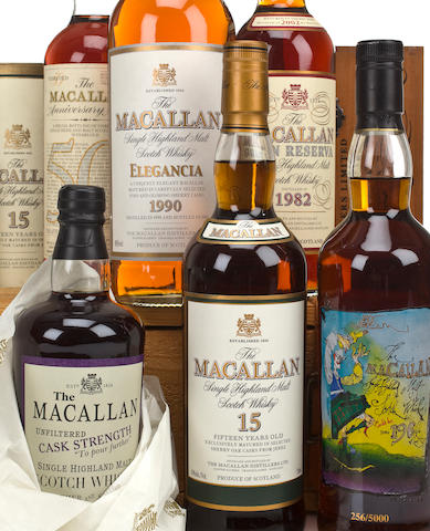 Macallan-15 year oldMacallan-1990