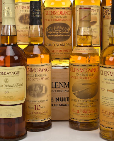 Glenmorangie (3)Glenmorangie-10 year old-1980Glenmorangie-10 year old-1982