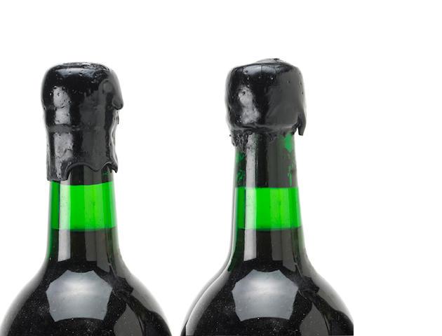 Dow's Vintage Port 1985,  (14) Taittinger Vintage Champagne 1989, Brut Millesime (1) Oudinot Vintage Champagne 1979, Rose (2) Charles Heidsieck Vintage Champagne 1979, Cuvee Charlie (2)