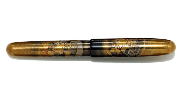 NAMIKI: Thunder-God vs. Wind-God Emperor Limited Edition Maki-e Fountain Pen