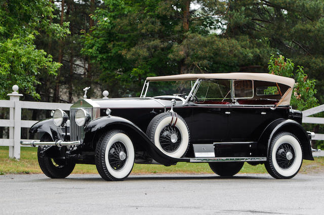 Left hand drive, one of just 16 Murphy bodied Phantom I's,1929 Rolls-Royce Phantom I Sports Phaeton  Chassis no. S 287 FP Engine no. 22877