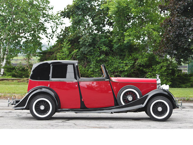Originally sold new to Henry 'Chips' Channon,1936 Rolls-Royce 20/25hp Brougham de Ville  Chassis no. GBK 36 Engine no. L 29 P