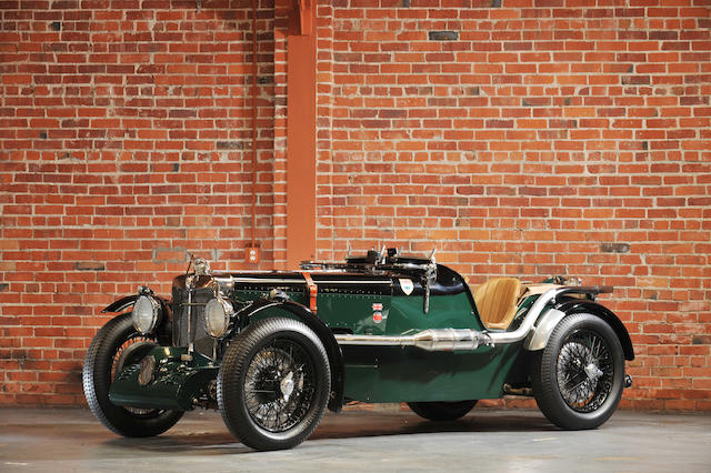 1933 MG K3 Supercharged Roadster Special  Chassis no. K0326