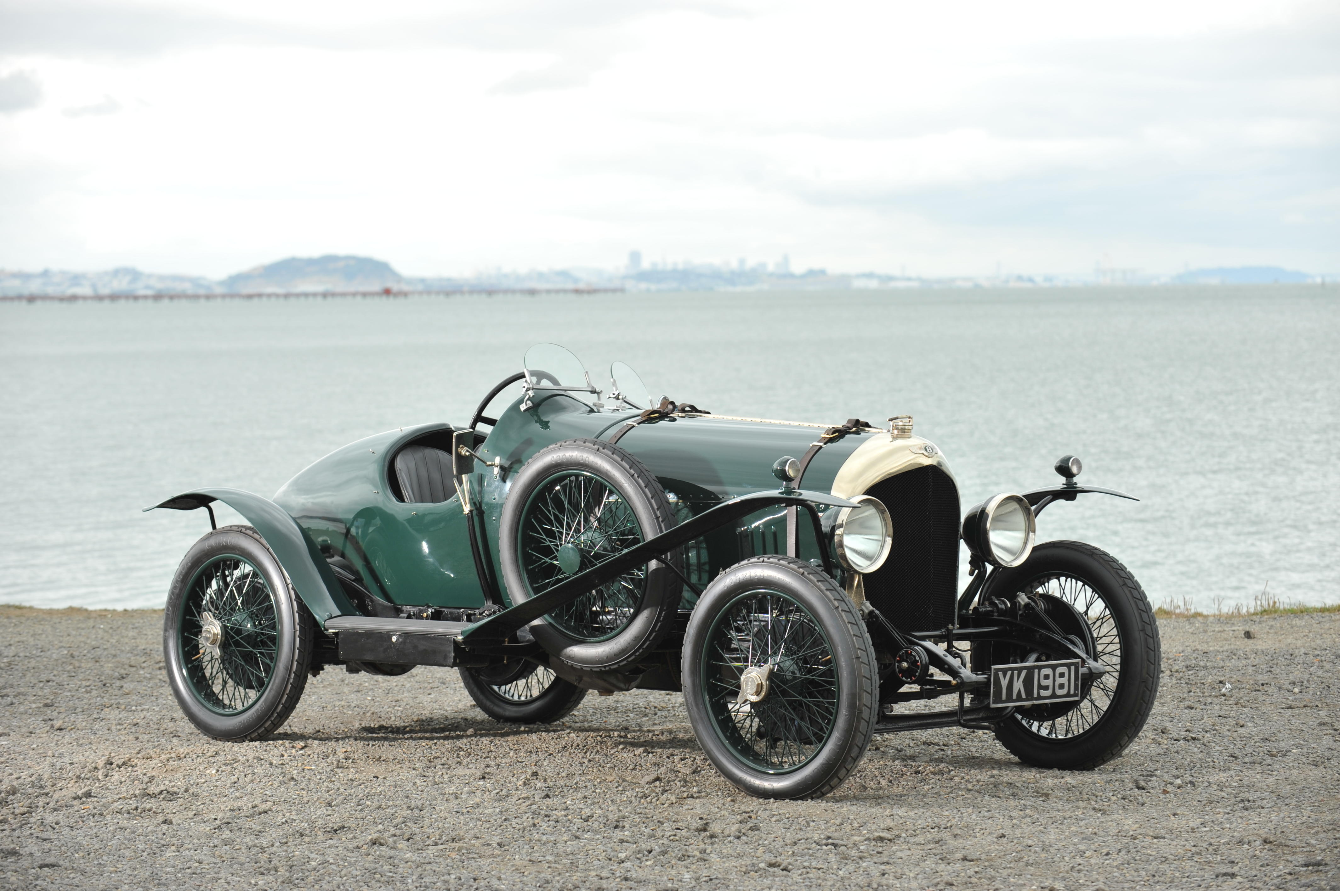 One of only eighteen examples manufactured 1925 Bentley 3-liter 100mph...
