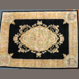 An Aubusson design carpet size approximately 8ft. x 10ft.