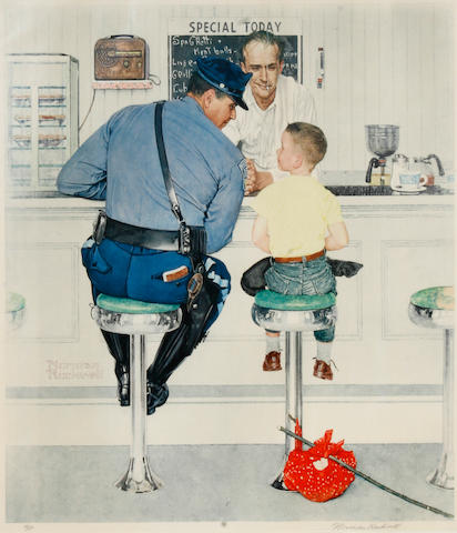 Norman Rockwell (American, 1894-1978); The Runaway;
