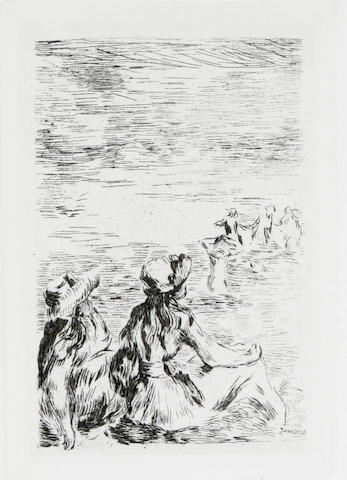 Pierre-Auguste Renoir (French, 1841-1919); posthumous etchings; (2)