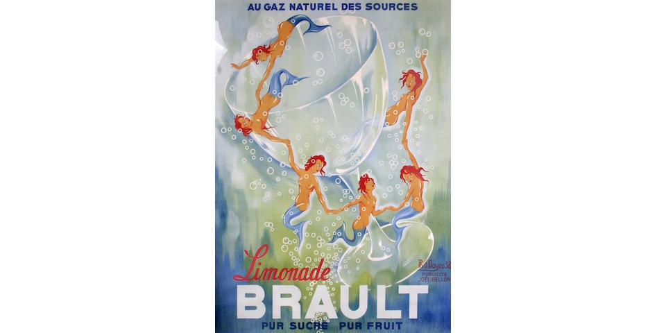 Philippe Henri Noyer (French, 1917-1985); Limonade Brault;