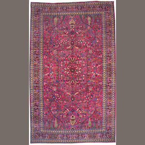 A Meshed carpet size approximately 11ft. 9in. x 18ft. 5in.