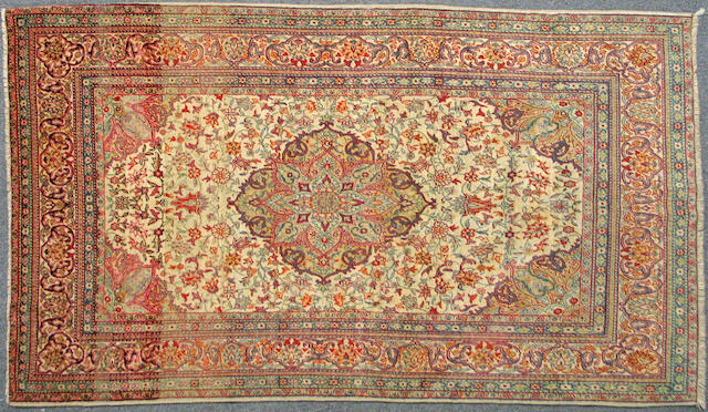 A Sivas rug size approximately 4ft. x 6ft. 7in.