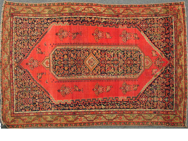 A Malayer carpet59618596 Central Persia, size approximately 3ft. 1in. x 6ft. 2in.