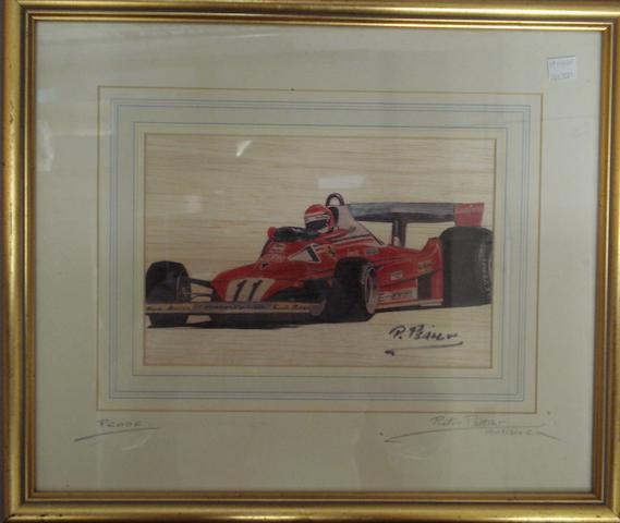 Pietro Psaier: '1977 Ferrari',