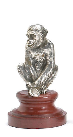 "A fine ""relections"" mascot by Payen, French circa 1920,"