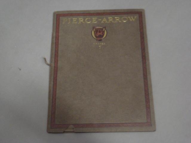 A good Pierce Arrow series 3 sales catalog,