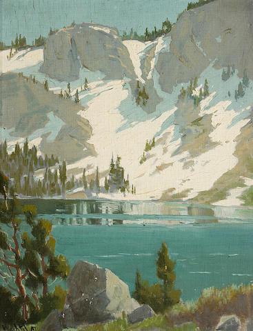 Elmer Wachtel (American, 1864-1929) Sierra Landscapes (a pair)