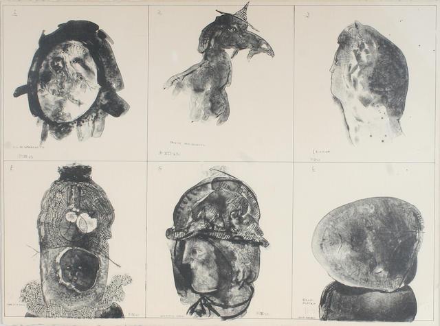 José Luis Cuevas (Mexican, born 1933); Untitled;