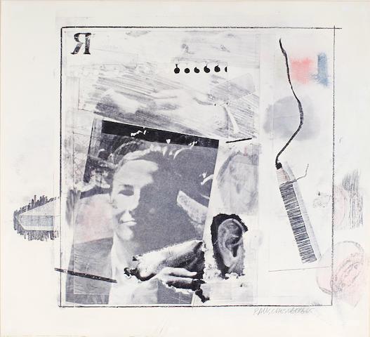 Robert Rauschenberg (American, 1925-2008); Self-Portrait;