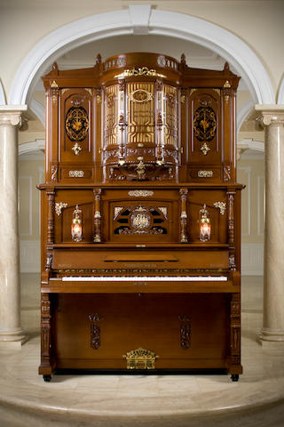 Hupfeld Phonoliszt Violina Model B, together withUpfeld roll cabinet