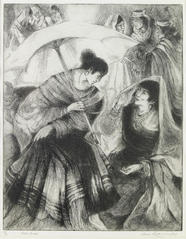 Gene (Alice Geneva) Kloss (American, 1903-1996); Fiesta Parasol;