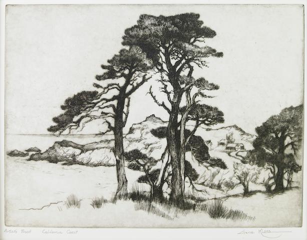 Gene (Alice Geneva) Kloss (American, 1903-1996); California Coast;