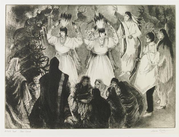 Gene (Alice Geneva) Kloss (American, 1903-1996); Deer Dance;