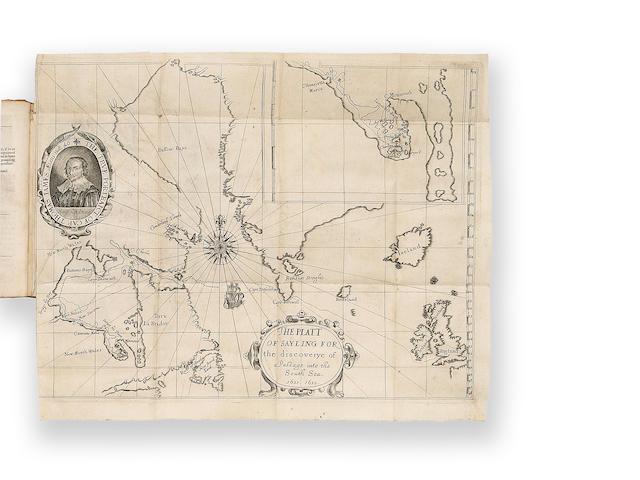 16331633James, [Capt. Thomas]The Strange and Dangerous Voyage of Captaine Thomas James,...London2000 $35,935 Maggs Brothers, 21 Jan 2000.  BP 21,715
