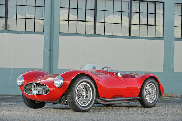 1953 Maserati A6GCS Two-Seat Sports Racer  Chassis no. 2053 Engine no. 2053* see text (original A6GCS engine no. 2067 included)