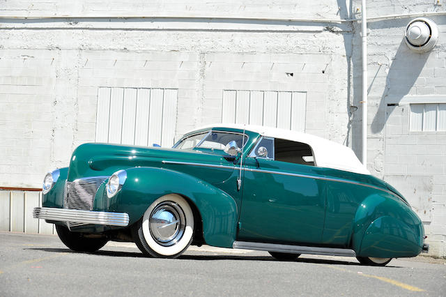 A historically significant pre-WWII LA Custom by Charles Marr and Gerry Huth,1940 Mercury Series 09A Custom Coupe  Chassis no. 99A121762