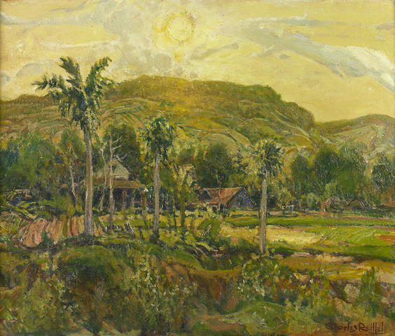 Charles Reiffel (American, 1862-1942) The End of the Day (Point Loma) 20 x 24in
