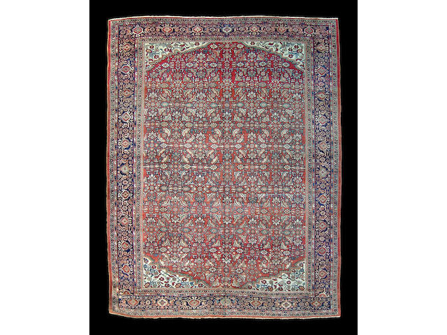 A Seraband carpet size approximately 12ft. 4in x 17ft. 6in.