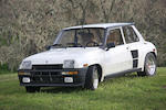 1985 Renault R5 Turbo 2  Chassis no. VF1822000F0000148