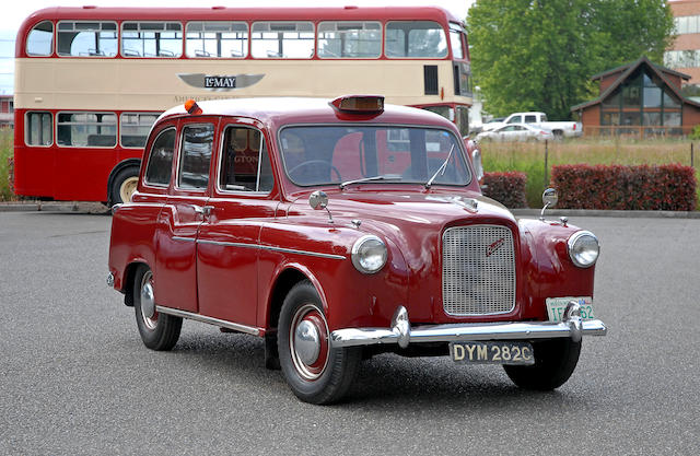 1965 Austin London Cab  Chassis no. FX47473