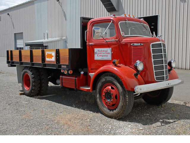 1940 Mack Dump Bed 2 Ton  Chassis no. BG12422