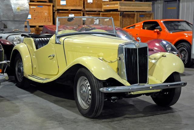 1952 MG TD  Chassis no. TDC18884