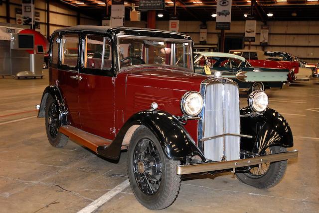 1935  BSA Standard  Chassis no. D4058