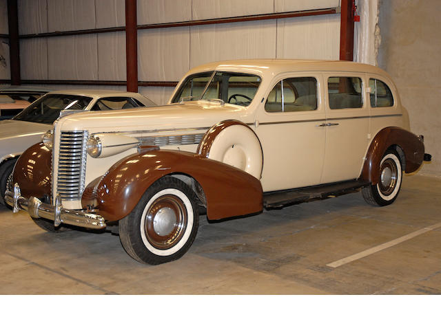 1938  Buick Limited Series 90  Chassis no. 93457435