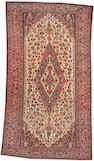 A Malayer carpet Size approximately 5ft. 7in. x 10ft. 4in.