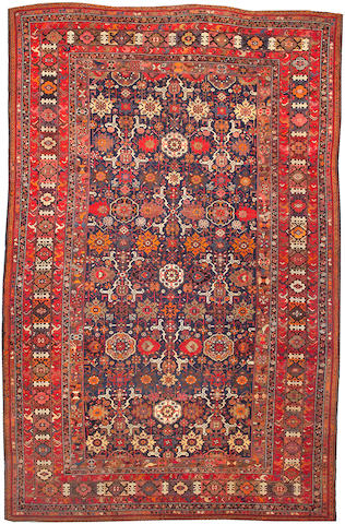 A Kuba carpet Size approximately 10ft. 2in. x 15ft. 8in.