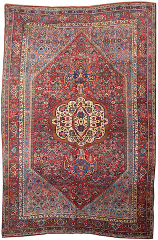 A Bidjar carpet Size approximately 8ft. 7in. x 12ft.